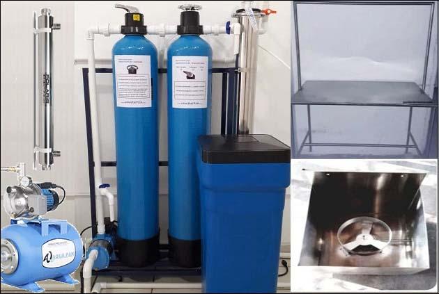 planta purificadora de agua económica