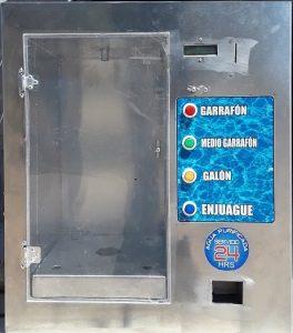 despachador automatico de agua con cambio