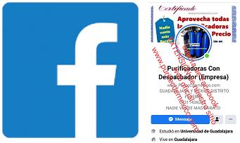 purificadoras de agua facebook