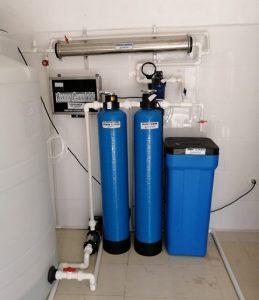 equipo de purificación vending de agua