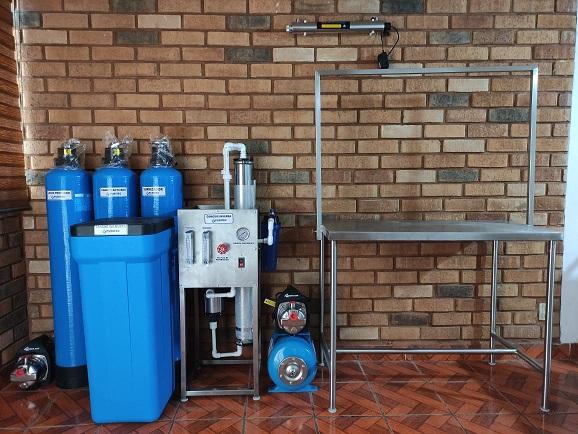 planta purificadora de agua para 400 garrafones